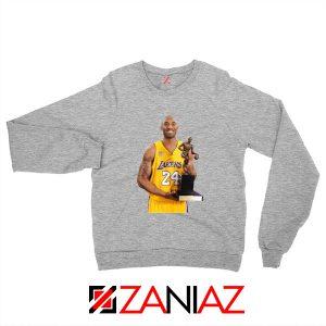 Bryant Trophy Lakers Sport Grey Sweatshirt