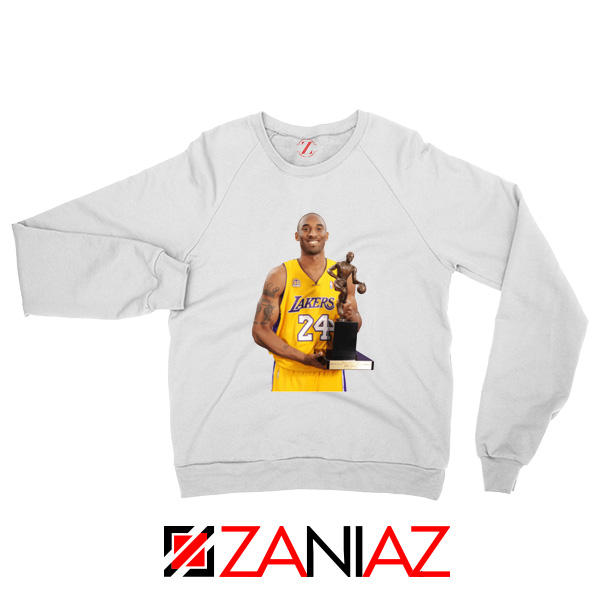 Bryant Trophy Lakers White Sweatshirt