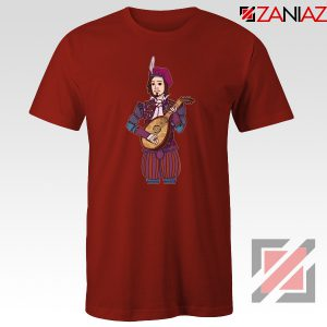 Dandelion The Witcher 3 Red Tee Shirt