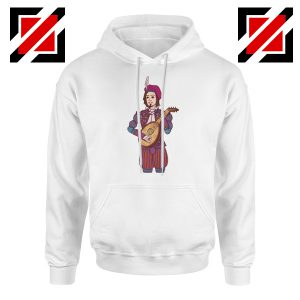 Dandelion The Witcher 3 White Hoodie
