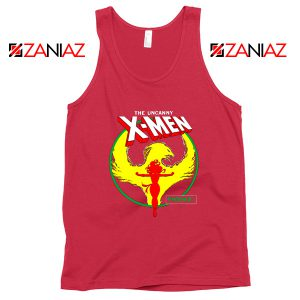 Dark Phoenix Circle Red Tank Top