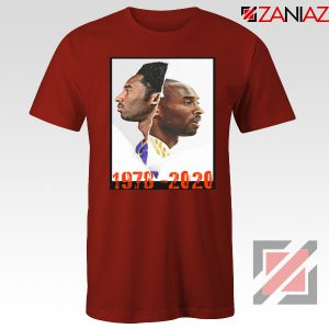 Faces Kobe Bryant Red Tshirt