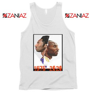 Faces Kobe Bryant White Tank Tops