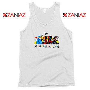Friends X Men Team White Tank Top