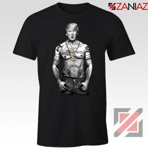 Gangster Donald Trump Black Tshirt