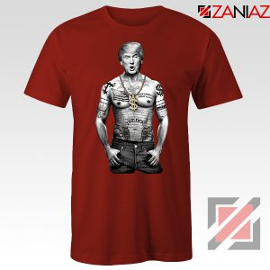 Gangster Donald Trump Red Tshirt