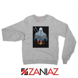 Geralt And Eredin Grey Sweatshirt