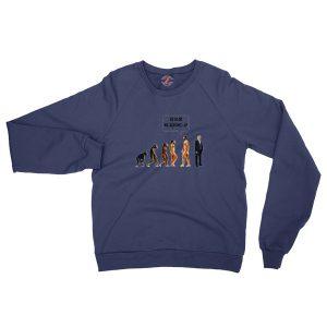 Go Back We Screwed Up Trump Navy Sweatshirt