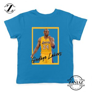 Goodbye Lakers Kids Tshirt Kobe Bryant RIP Youth Tees S-XL