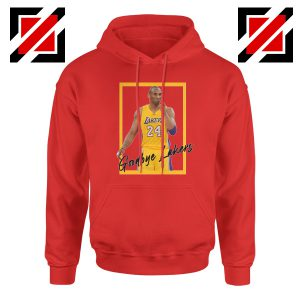 Goodbye Lakers Red Hoodie