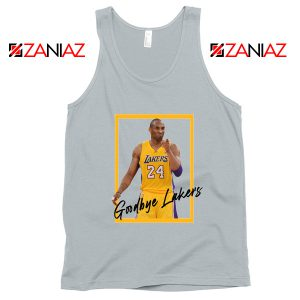 Goodbye Lakers Sport Grey Tank Top