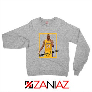 Goodbye Lakers Sweater Kobe Bryant RIP Sweatshirts S-2XL