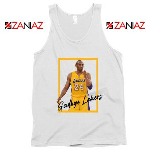 Goodbye Lakers Tank Top Kobe Bryant RIP Tops S-3XL