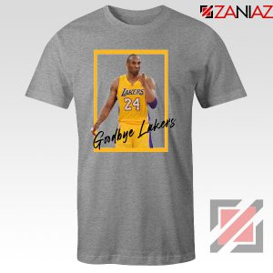 Goodbye Lakers Tshirt Kobe Bryant RIP Tee Shirts S-3XL