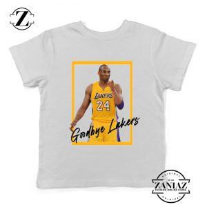 Goodbye Lakers White Kids Tshirt