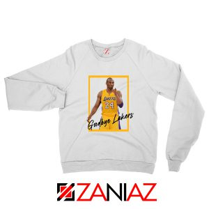 Goodbye Lakers White Sweater