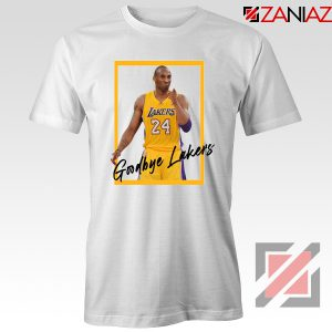 Goodbye Lakers White Tshirt