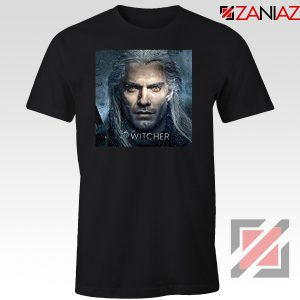 Henry Cavill Serial The Witcher Black Tshirt