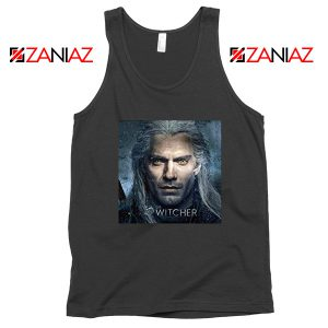 Henry Cavill The Witcher Black Tank Top