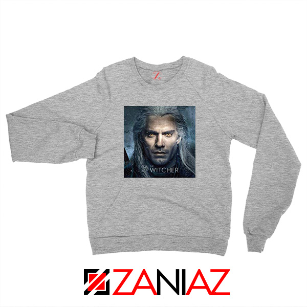 Henry Cavill The Witcher Grey Sweatshirt