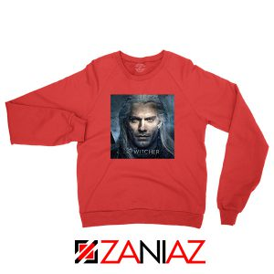 Henry Cavill The Witcher Red Sweatshirt