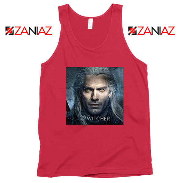 Henry Cavill The Witcher Red Tank Top