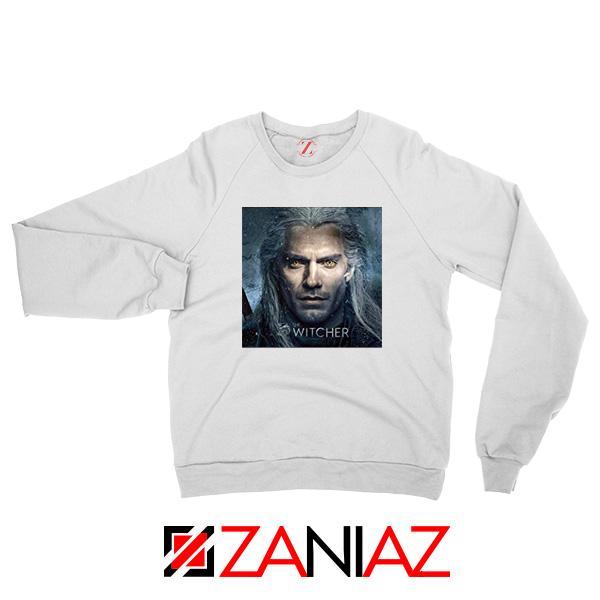 Henry Cavill The Witcher White Sweatshirt