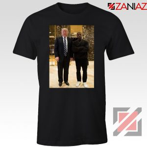 Kanye West and Donald Trump Black Tee Shirt