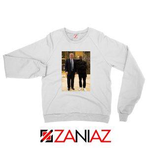 Kanye West and Donald Trump Sweatshirt
