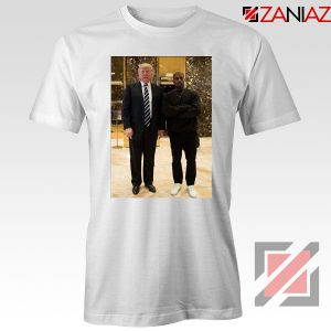 Kanye West and Donald Trump White Tee Shirt