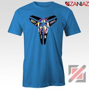 Kobe Black Mamba Logo Blue Tee Shirt