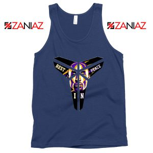 Kobe Black Mamba Logo Navy Tank Top