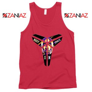Kobe Black Mamba Logo Red Tank Top