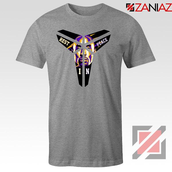 Kobe Black Mamba Logo Sport Grey Tee Shirt