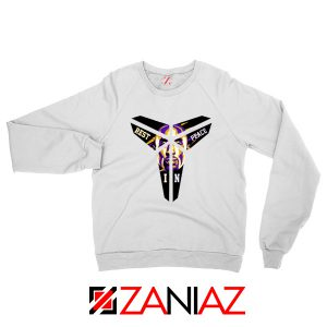 Kobe Black Mamba Logo White Sweater