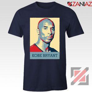 Kobe Bryant Poster Navy Tee Shirt