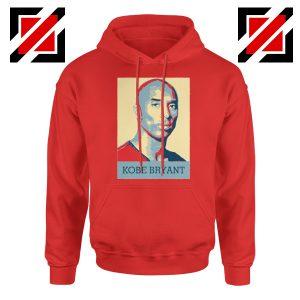 Kobe Bryant Poster Red Hoodie