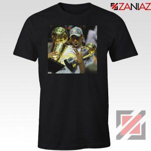 Kobe Bryant Surprising Trophies Black Tshirt