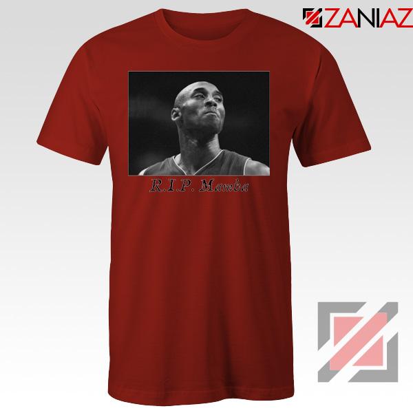 Kobe Bryants Best Plays Red Tshirt