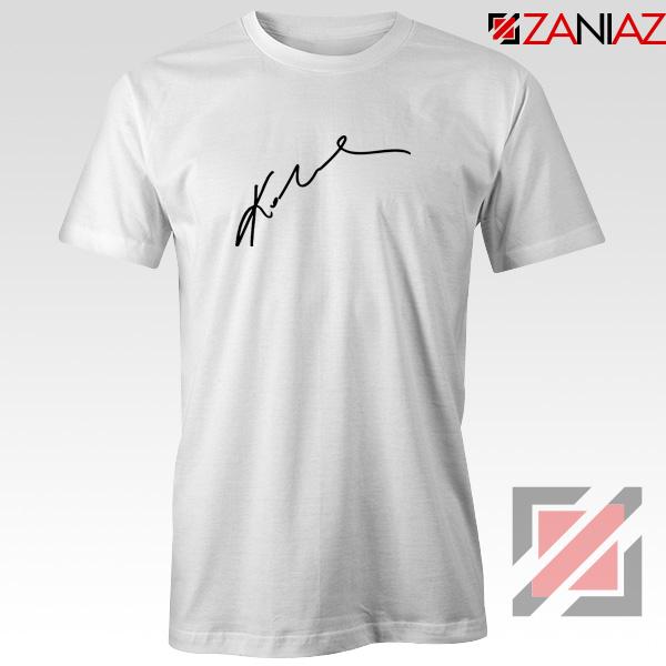 Kobe Bryants Signature Tee Shirt