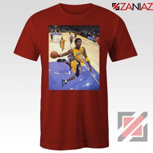 Kobe Poster Dunks Red Tshirt