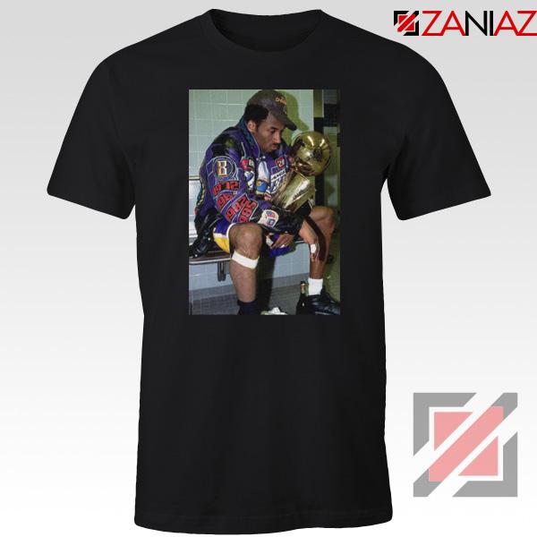 Kobe Winning Championship Black Tshirt
