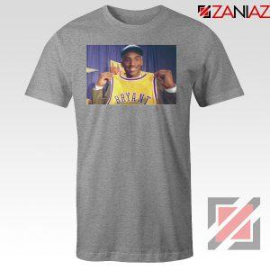 LA Lakers Honor Kobe Bryant Grey Tees