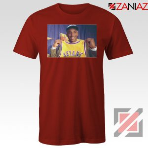 LA Lakers Honor Kobe Bryant Red Tees