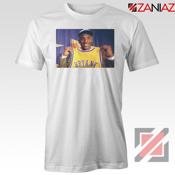 LA Lakers Honor Kobe Bryant White Tees