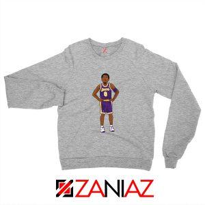 Lakers 8 Kobe Bryant Basketball Palyer Sweatshirt S-2XL