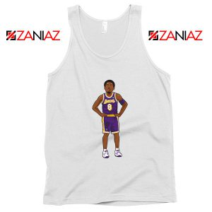 Lakers 8 Kobe Bryant Basketball Palyer Tank Top S-3XL
