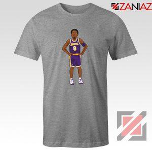 Lakers 8 Kobe Bryant Basketball Palyer Tee Shirts S-3XL