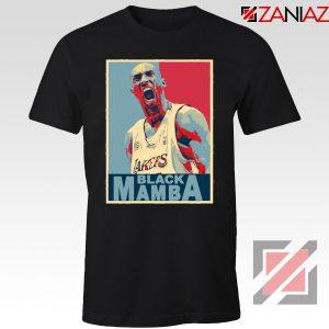 Lakers Black Mamba Black Tee Shirt