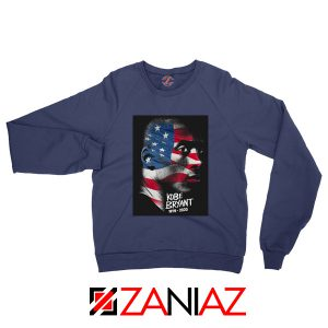 Lakers Bryant American Flag Navy Sweatshirts
